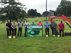 Pied Piper Sponsors New Eufaula Wetland Project